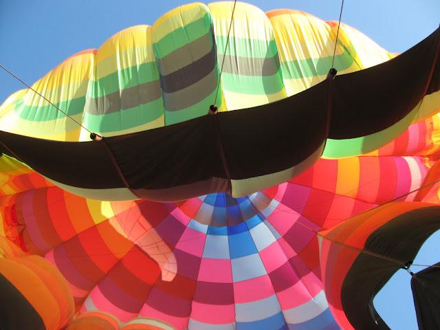 Aterrizando el globo