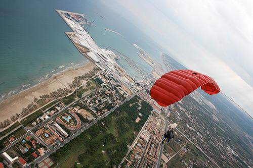 Salto en paracaidas - Castellón