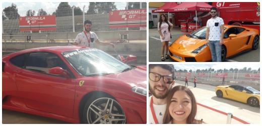 Ruben - Ferrari en Monteblanco
