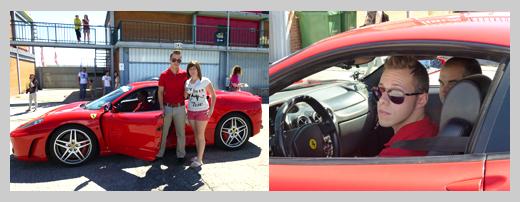 Ferrari carretera Madrid