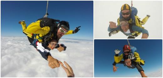 Teresa - Salto en paracaidas Castellón