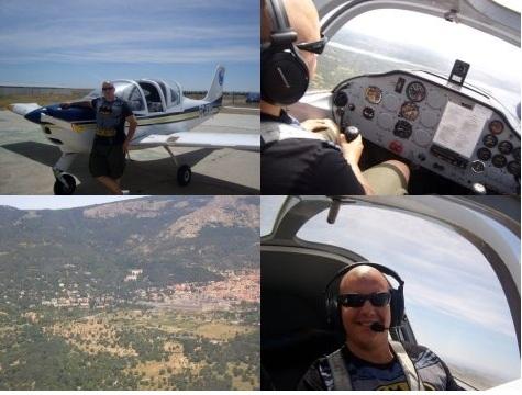 Pilotar avioneta Madrid