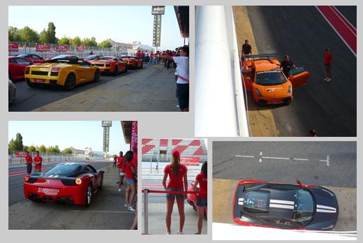 Ferrari + Lamborghini Montmeló