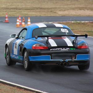 Porsche Boxster Cup Driving in Cheste 3,1km (Valencia) - 2 laps (passes finish line)