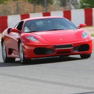 Ferrari F430 Driving in Montmeló Nacional 3km (Barcelona) - 2 laps (passes finish line)