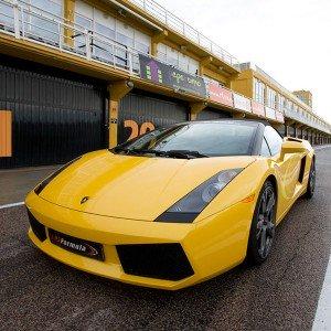 Lamborghini Gallardo Driving in Cheste 3,1km (Valencia) - 1 lap