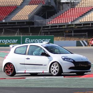Renault Clio Cup Extreme Copiloting in Los Arcos 3,9km (Navarra) - 1 lap