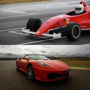 Ferrari + Formula 2.0 in Brunete 1,6km (Madrid) - 4 laps (2 per car)