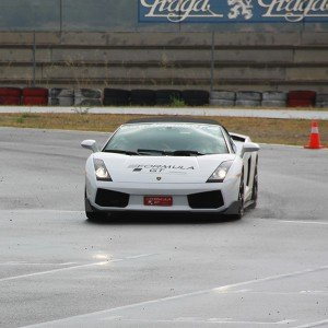 Lamborghini Track and Highway Driving in Montmeló Escuela 1,7km (Barcelona) - 1 lap + 11 km highway