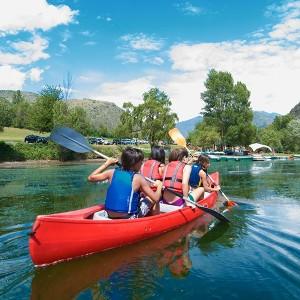 Canoe rental in La Guingueta d'Àneu (Lleida)