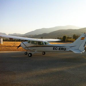 Fly a light aircraft (with guest) in Villarrubia (Córdoba)