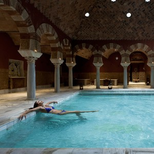 Arab baths in Córdoba