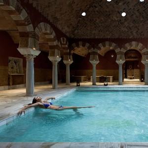 Arab baths in Córdoba