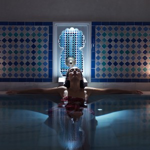 Arab baths in Málaga