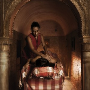 Arab baths + massage for two in Granada