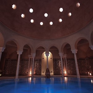 Arab baths + massage in Málaga