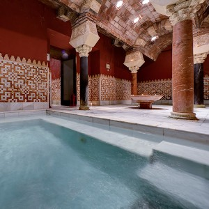Arab baths for two in Córdoba