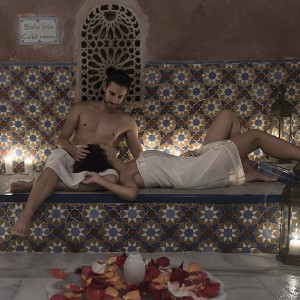 Arab baths for two in Granada