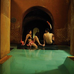 Arab baths for two in Madrid