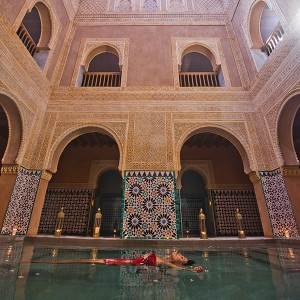 Arab baths for two in Málaga