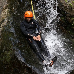 Canyoning introduction in Llavorsí (Lleida)
