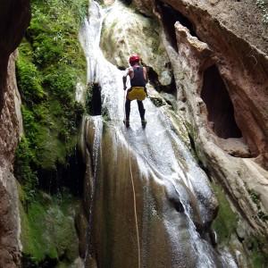 Canyoning in Tuéjar (Valencia)