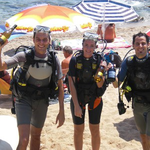 Scuba diving + wine in Tossa de Mar (Girona)