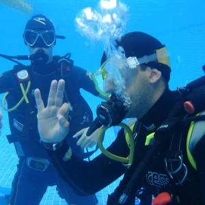 Diving class in Las Rozas (Madrid)