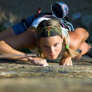 Rock climbing in Chulilla (Valencia)