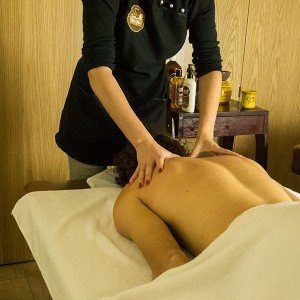 Pindas massage with beer extract in Granada