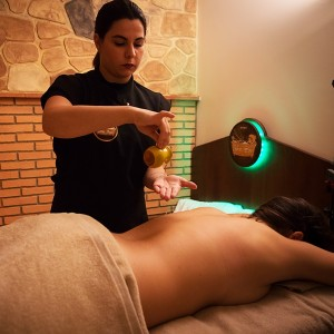 Pindas massage with beer extract in Alicante