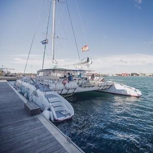 Catamaran excursion + barbecue on board in Málaga