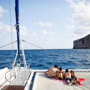 Catamaran excursion with swim in Calpe (Alicante)