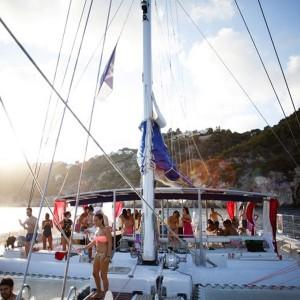 Catamaran excursion + barbecue on board in Calpe (Alicante)