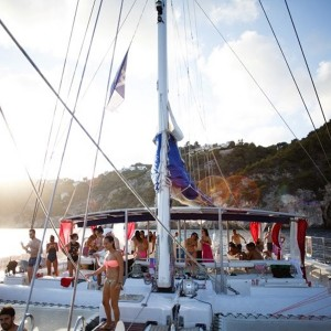 Catamaran excursion + barbecue on board in Calpe (Alicante)