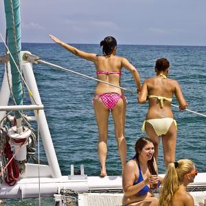 Catamaran excursion with swim in Valencia