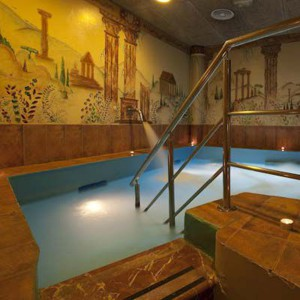 Private thermal circuit for two in Barcelona