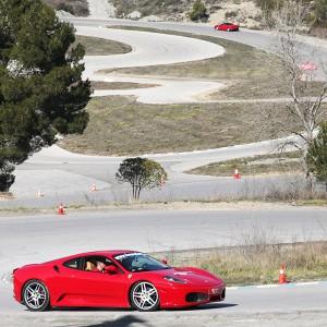 Ferrari F430 Driving in Can Padró 2,2km (Barcelona)