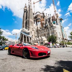 Ferrari F430 Driving in Barcelona City (Barcelona)