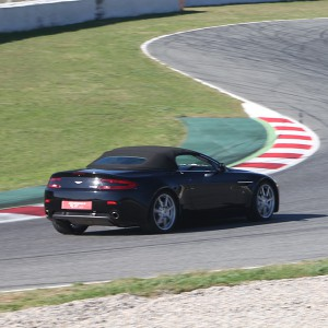 Aston Martin Vantage Driving in El Jarama 3,8km (Madrid)