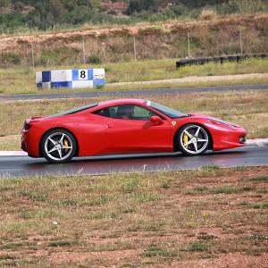 Ferrari 458 Italia Driving in Campillos 1,6km (Málaga)