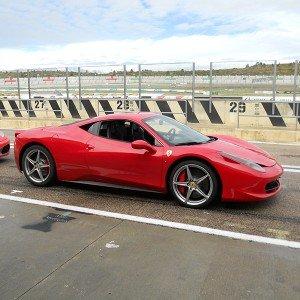 Ferrari 458 Italia Driving in Cheste 3,1km (Valencia)