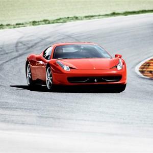 Ferrari 458 Italia Driving in Los Arcos 3,9km (Navarra)