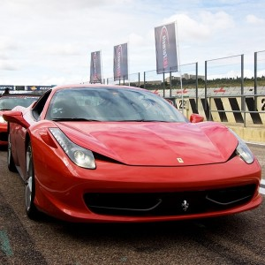 Ferrari 458 Italia Driving in Monteblanco 3,9km (Huelva)
