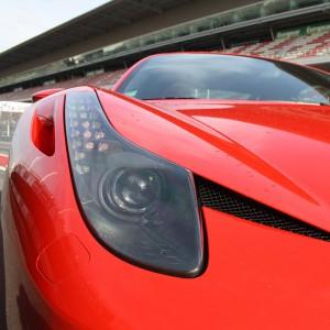Ferrari 458 Italia Driving in Monteblanco 2,7km (Huelva)