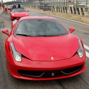 Ferrari 458 Italia Driving in Montmeló GP 4,7km (Barcelona)