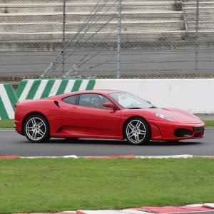 Ferrari F430 Driving in Calafat 2,6km (Tarragona)