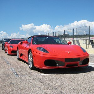 Ferrari F430 F1 Driving in Cheste 3,1km (Valencia)
