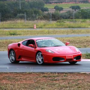 Ferrari F430 Driving in Chiva 1,6km (Valencia)