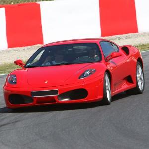 Ferrari F430 Driving in Monteblanco 2,7km (Huelva)